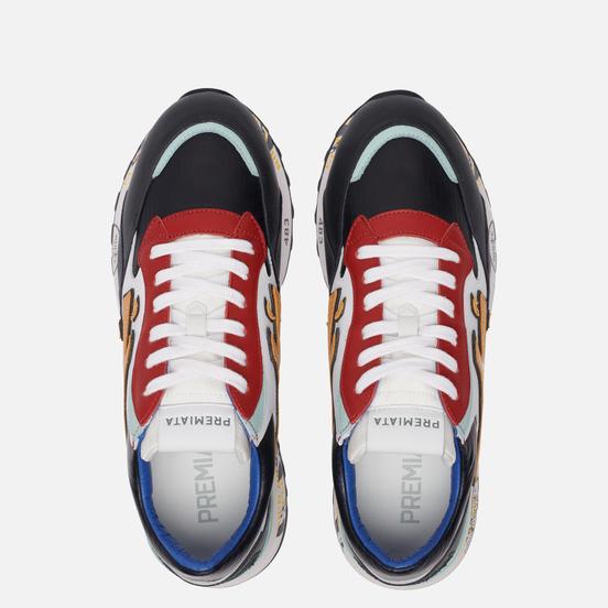 Мужские кроссовки Premiata Django 4962 Red/White/Black