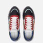 Мужские кроссовки Premiata Django 4962 Red/White/Black фото - 1