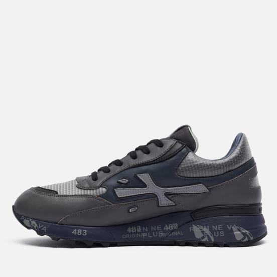 Мужские кроссовки Premiata Django 5505 Grey/Blue