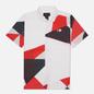 Мужская рубашка Jordan Printed Shooting All Over Print Quai 54 White фото - 0