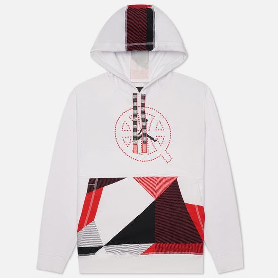 Мужская толстовка Jordan Fleece Hoodie Quai 54 White/University Red/Black