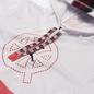 Мужская толстовка Jordan Fleece Hoodie Quai 54 White/University Red/Black фото - 1