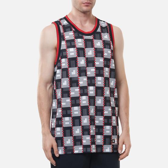 Мужская футболка Jordan Off-Court Jersey Quai 54 White/University Red/White