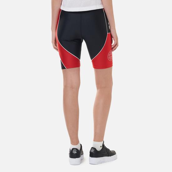 Женские шорты Jordan Essential Bike Quai 54 Black/University Red/University Red