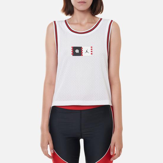 Женская футболка Jordan Essential Jersey Quai 54 White