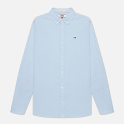 Мужская рубашка Tommy Jeans Stretch Oxford Shoreside Blue