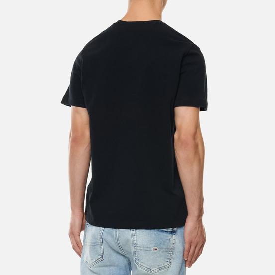 Мужская футболка Tommy Jeans Tommy Badge Regular Fit Black