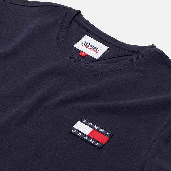 Мужская футболка Tommy Jeans Tommy Badge Regular Fit Twilight Navy