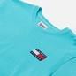 Мужская футболка Tommy Jeans Tommy Badge Regular Fit Chlorine Blue фото - 1