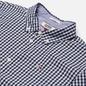 Мужская рубашка Tommy Jeans Poplin Gingham Slim Fit Twilight Navy Check фото - 1
