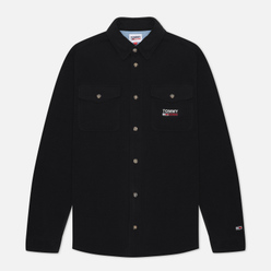 Мужская рубашка Tommy Jeans Polar Fleece Black