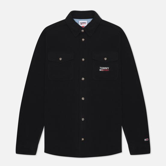 Мужская рубашка Tommy Jeans Polar Fleece Black