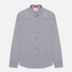 Мужская рубашка Tommy Jeans Stretch Oxford Slim Fit Black
