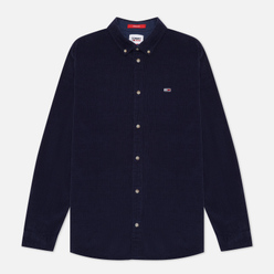 Мужская рубашка Tommy Jeans Corduroy Regular Fit Twilight Navy