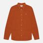 Мужская рубашка Tommy Jeans Corduroy Regular Fit Burned Caramel фото - 0
