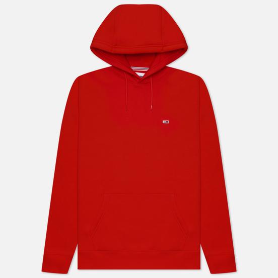 Мужская толстовка Tommy Jeans Regular Fleece Hoodie Deep Crimson