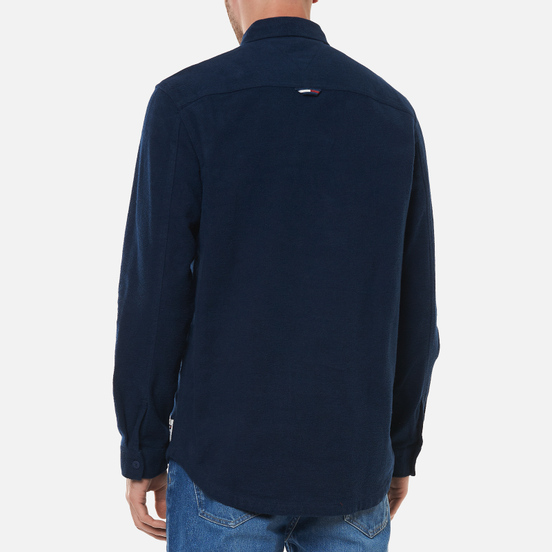 Мужская рубашка Tommy Jeans Soft Organic Cotton Overshirt Twilight Navy