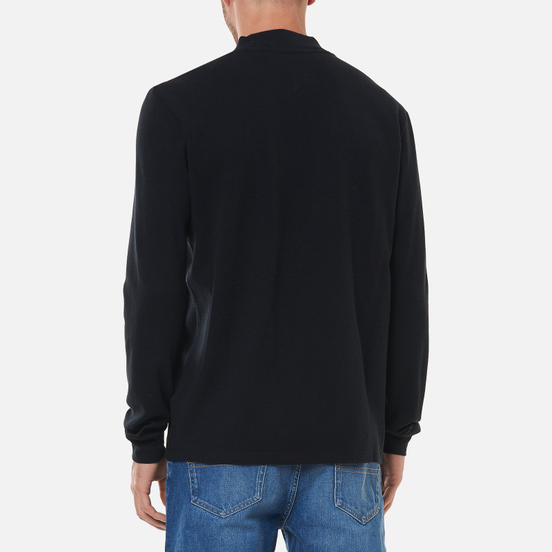 Мужской лонгслив Tommy Jeans High Neck Black