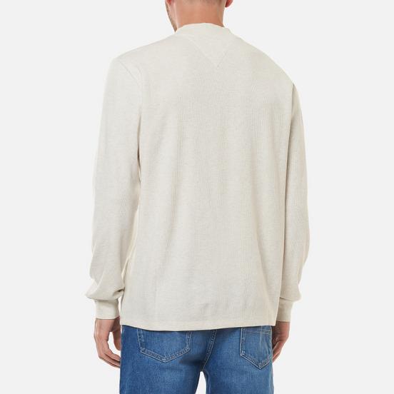 Мужской лонгслив Tommy Jeans High Neck White