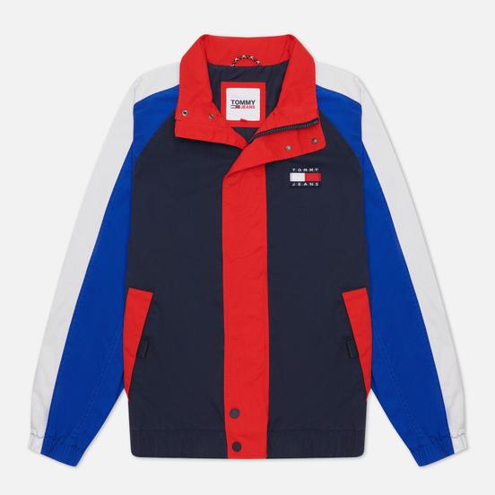 Мужская куртка Tommy Jeans Badge Colour-Blocked Twilight Navy/Multi