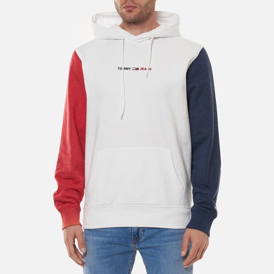 Мужская толстовка Tommy Jeans Colour-Blocked Hoody White/Multi
