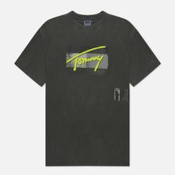 Мужская футболка Tommy Jeans Vintage Signature Organic Cotton Black