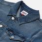 Мужская джинсовая куртка Tommy Jeans Denim 13 Oz Faded Regular Trucker Lincoln Medium Blue фото - 1