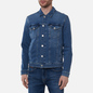 Мужская джинсовая куртка Tommy Jeans Denim 13 Oz Faded Regular Trucker Lincoln Medium Blue фото - 2