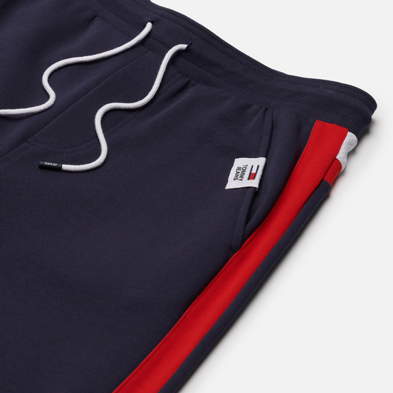 Мужские брюки Tommy Jeans Colour-Blocked Basketball Joggers Twilight Navy