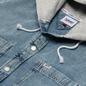 Мужская рубашка Tommy Jeans Denim Hoodie Overshirt Denim Light фото - 1