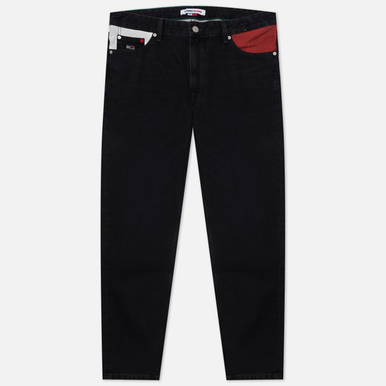 Мужские джинсы Tommy Jeans Dad Regular Tapered AE773 Denim Black