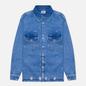 Мужская джинсовая куртка Tommy Jeans Worker Shirt AE714 Denim Light фото - 0