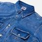 Мужская джинсовая куртка Tommy Jeans Worker Shirt AE714 Denim Light фото - 1