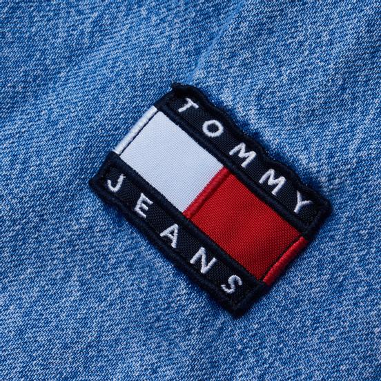 Мужская джинсовая куртка Tommy Jeans Worker Shirt AE714 Denim Light