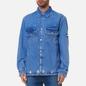 Мужская джинсовая куртка Tommy Jeans Worker Shirt AE714 Denim Light фото - 3