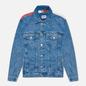 Мужская джинсовая куртка Tommy Jeans Oversize Trucker AE712 Denim Light фото - 0