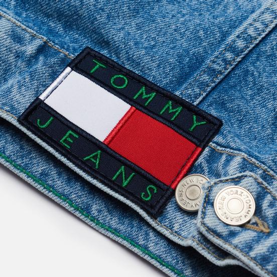 Мужская джинсовая куртка Tommy Jeans Oversize Trucker AE712 Denim Light
