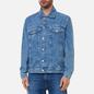 Мужская джинсовая куртка Tommy Jeans Oversize Trucker AE712 Denim Light фото - 3