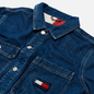 Мужская джинсовая куртка Tommy Jeans Boxy Shirt AE731 Denim Medium фото - 1