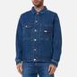 Мужская джинсовая куртка Tommy Jeans Boxy Shirt AE731 Denim Medium фото - 2