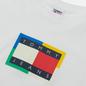 Мужская футболка Tommy Jeans Multicolor Flag White фото - 1
