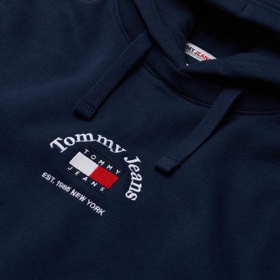 Мужская толстовка Tommy Jeans Timeless Tommy Hoodie Twilight Navy