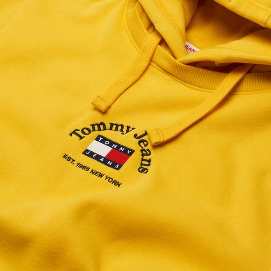 Мужская толстовка Tommy Jeans Timeless Tommy Hoodie Pollen