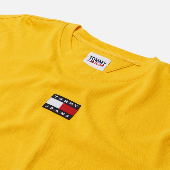 Мужская футболка Tommy Jeans Tommy Badge Pure Organic Cotton Pollen