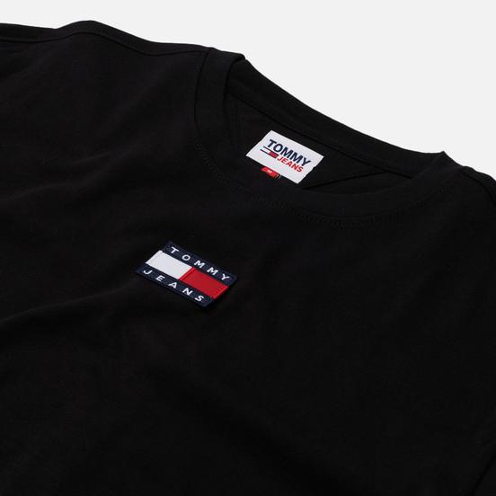 Мужской лонгслив Tommy Jeans Tommy Badge Pure Organic Cotton Black