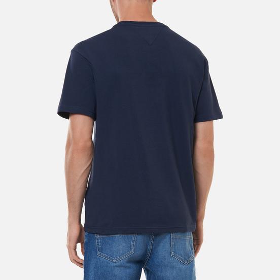 Мужская футболка Tommy Jeans Timeless Tommy 2 Twilight Navy