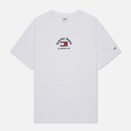 Мужская футболка Tommy Jeans Timeless Tommy 2 White