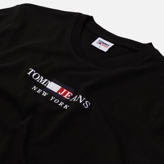 Мужская футболка Tommy Jeans Timeless Tommy 1 Black