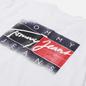 Мужская футболка Tommy Jeans Faded Flag White фото - 2