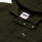 Мужская куртка парка Tommy Jeans Flag Patch Hooded Dark Olive фото - 1